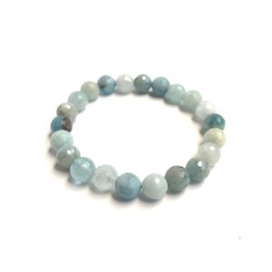 8mm Aquamarine Bracelet
