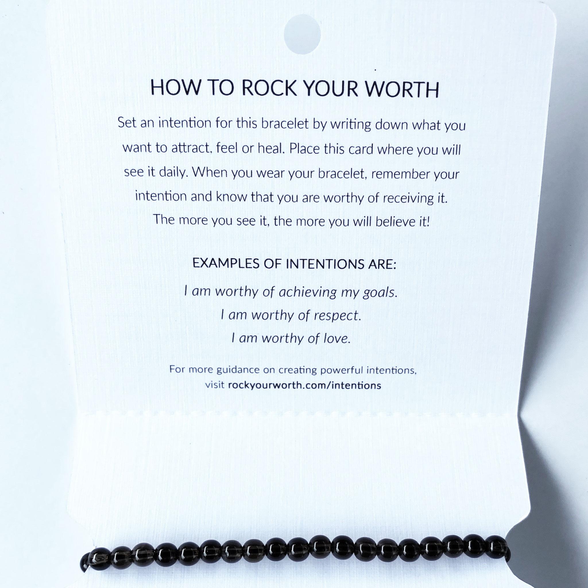 Smoky Quartz Bracelet Rock Your Worth
