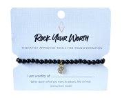 Onyx Bracelet Rock Your Worth