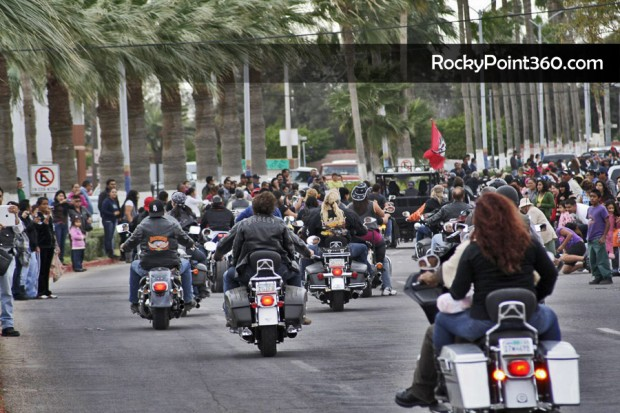 rocky-point-rally-2011-parade-3-620x413 Traditional Rally Bikers Parade to begin at 12 p.m. on Sat!