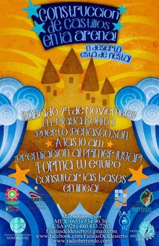 fiestas-desierto Sand castle contest part of Fiestas del Desierto 11/24