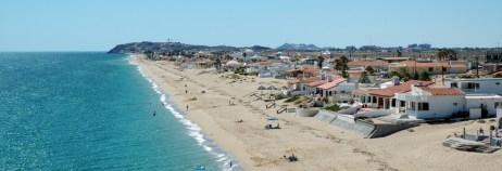 las conchas beach view