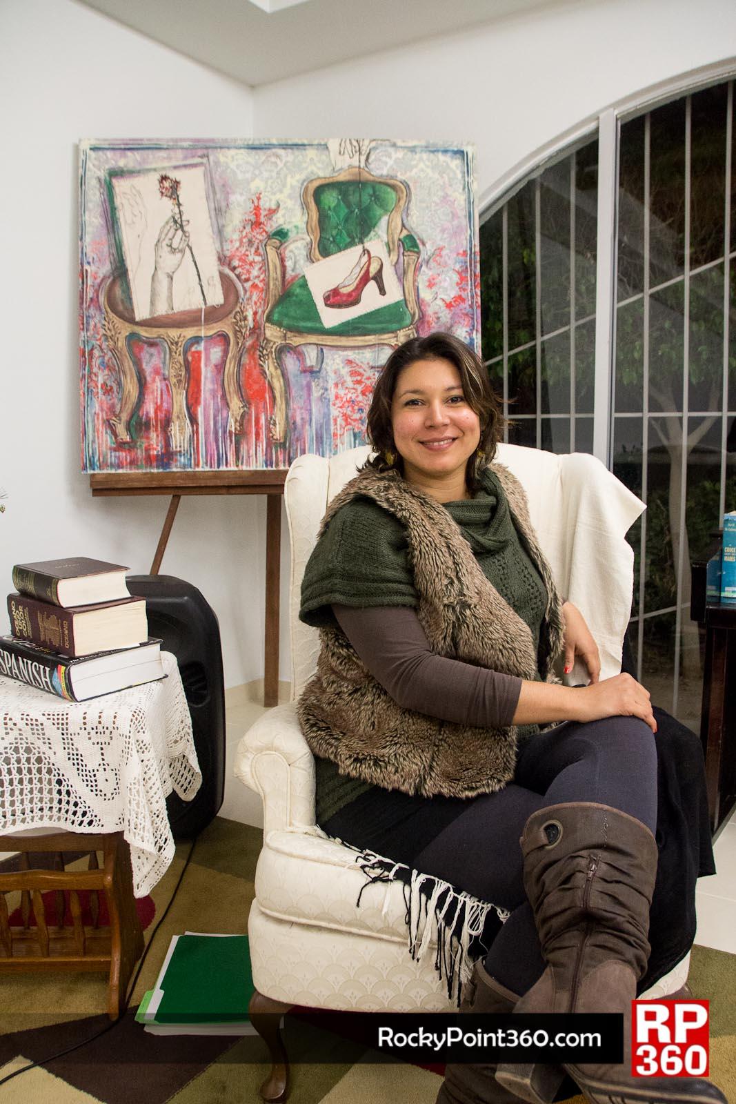 Cristina Rascón, microempresaria de las letras- Rocky Point 360