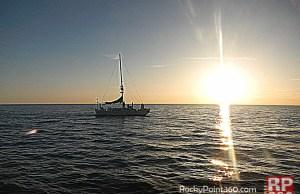 Atardecer en Puerto Peñasco