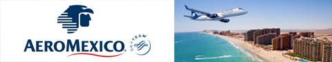 aeromexico flight banner