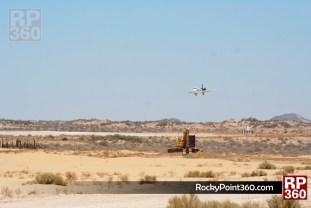 Aeromexico flight in Rocky Point 1