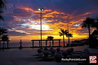 sunset-malecon-summer-2013 Rocky Point Weekend Rundown! Labor Day 2013