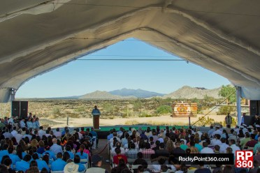Pinacate World Heritage Site unveiling