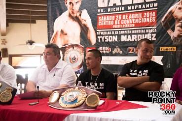 Gallo-Estrada-press-conference-2 Anuncian pelea de Campeonato Mundial de Box en Puerto Peñasco