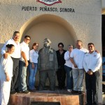 6-001 Sculptor Roberto Ledesma captures firefighter spirit in stone