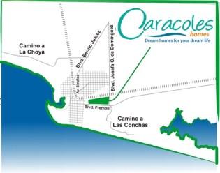 mapa caracoles