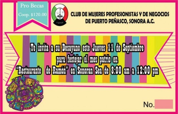 11-sept-desayuno-mjr-negocios-630x406 Scholarship Breakfast - Professional Businesswomen's Club  Sept 11