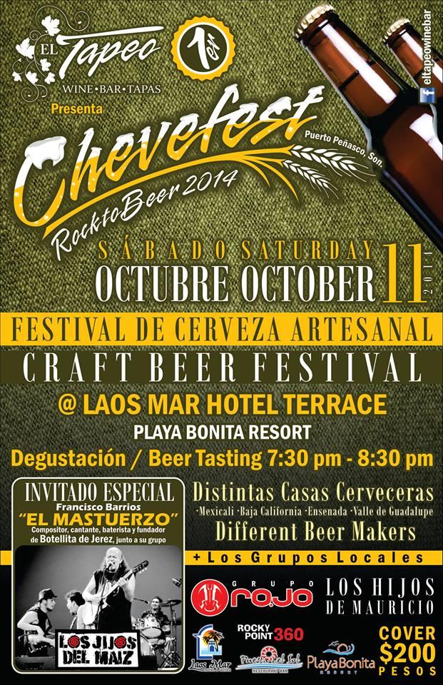 chevefest-logos1 CheveFest - Rocktobeer 2014  Craft Beer Fest  Oct. 11