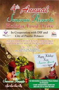 Sonoran Food Drive Poster 2014