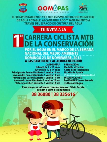 OOMAPAS-CARRERA-CICLISTA-630x836 Water Department bike race to raise conservation awareness