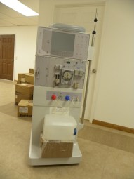 DSCN0493 Dialysis machine acquired through donations