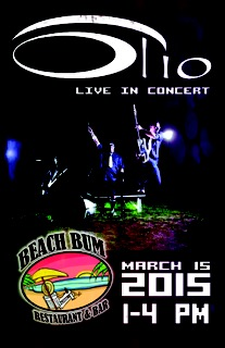 olio-m15 Olio in concert @ Beach Bum - Spring Break 2015