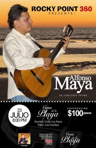 alnfonso-maya-poster-jul23-630x973 Sing your heart out! Rocky Point Weekend Rundown!