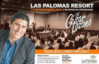 poster Cesar Lozano 11x17pulgadas