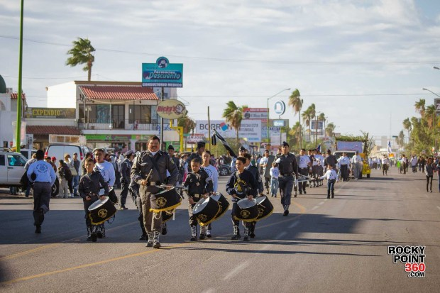 Desfile-Revolucion-Mexicana-2015-005 Aniversario de la Revolución, Puerto Peñasco 2015