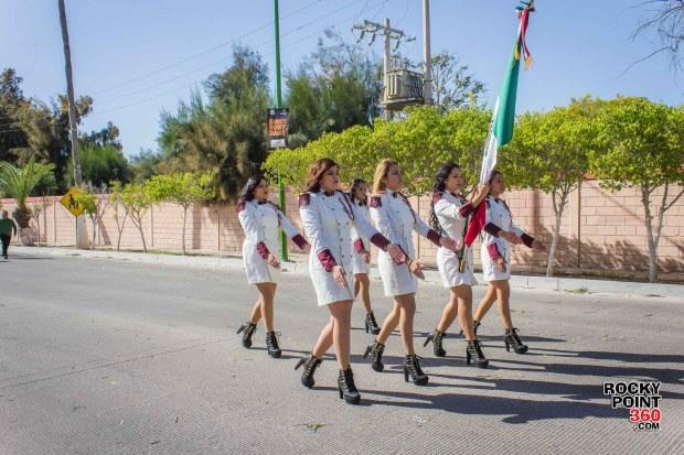 Desfile-Revolucion-Mexicana-2015-100 Aniversario de la Revolución, Puerto Peñasco 2015