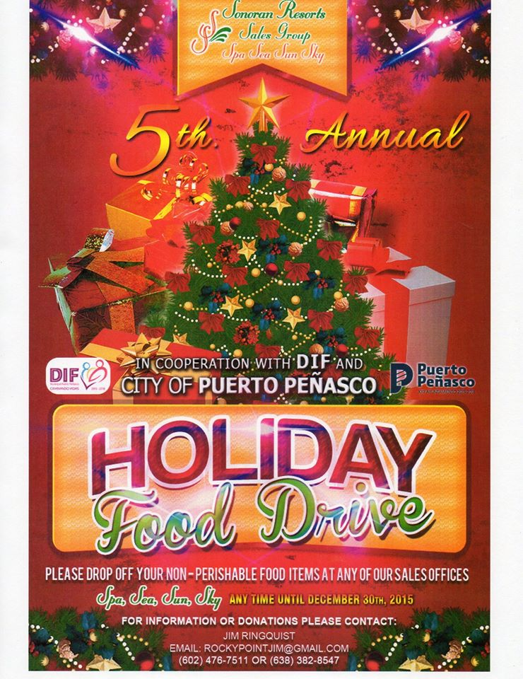sonoran-food-drive-2015 5th Annual Holiday Food Drive