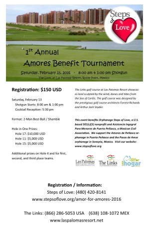 Amores Benefit Tournament Flier