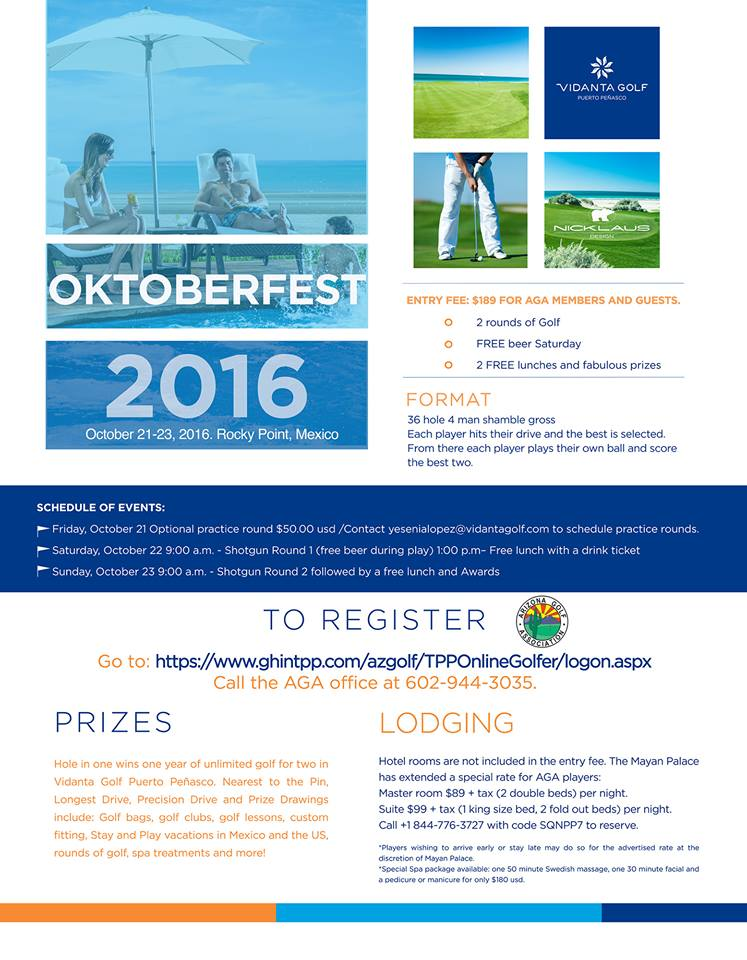 Flyer-Oktoberfest-2016-IMP Oktoberfest Golf Tournament @ Vidanta Golf