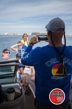 DelMarCharters-3 No lleves vestido a un Speed boat.