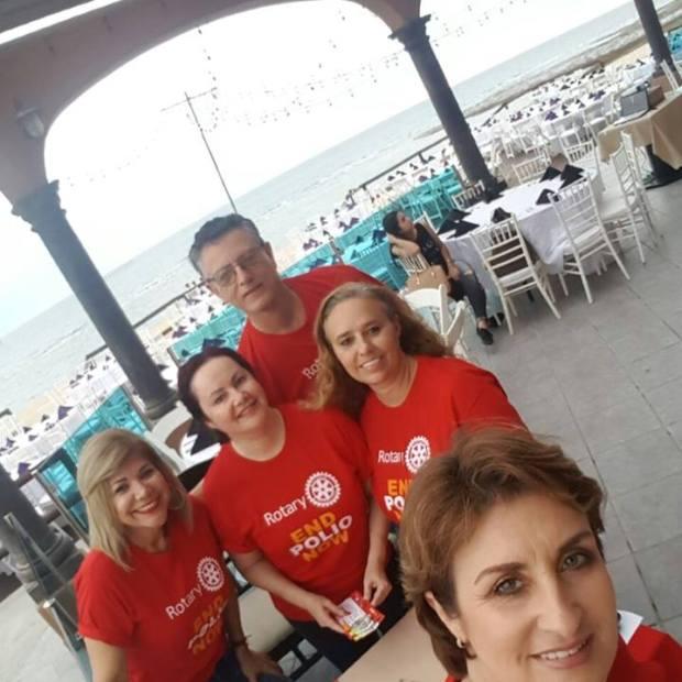 polio4 Puerto Peñasco Rotary Club raises funds for Polio Plus