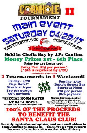 cornhole-april-santaclaus HOLY Week! Rocky Point Weekend Rundown!