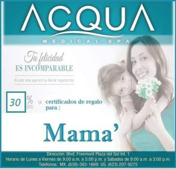 acqua-mothersday Even more ideas for Mother's Day!