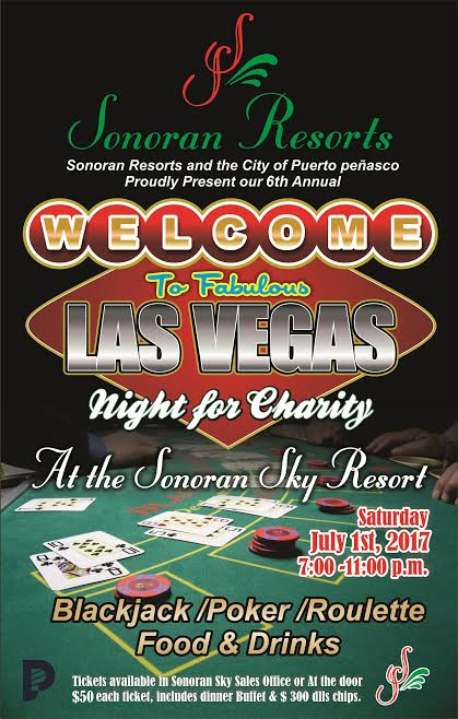las-vegas-night-sonoran2017 6th Annual Sonoran Resorts Las Vegas Night! July 1st