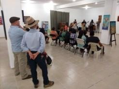 evento-Rifa-de-pinturas-FuerzaMexico El improvisado festival #FuerzaMéxico