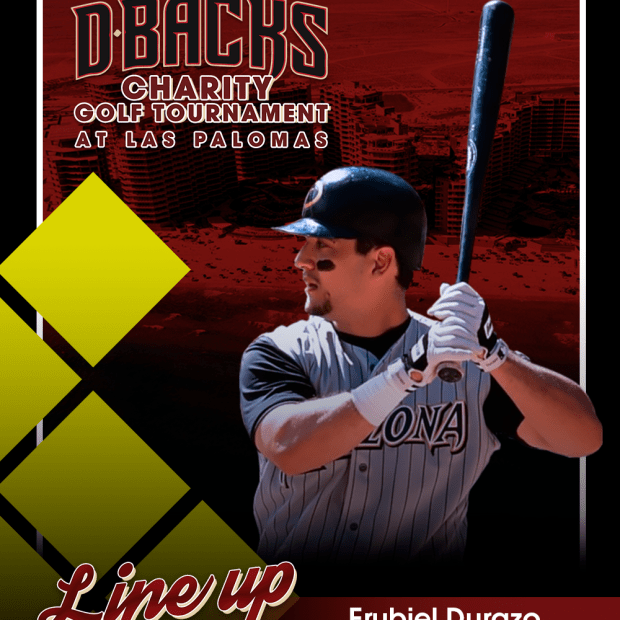 Erubiel-Durazo First Diamond Backs Charity Golf Tournament!