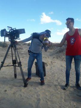 """corto-desierto Filman en el desierto de Puerto Peñasco  para el cortometraje """"El Buscador"""""""
