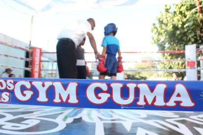 """guma-box2 Inauguran el ring del """"Gym Guma"""" con función maratónica de Box"""