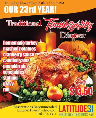 thanksgiving-lat31 2017 Thanksgiving ideas!