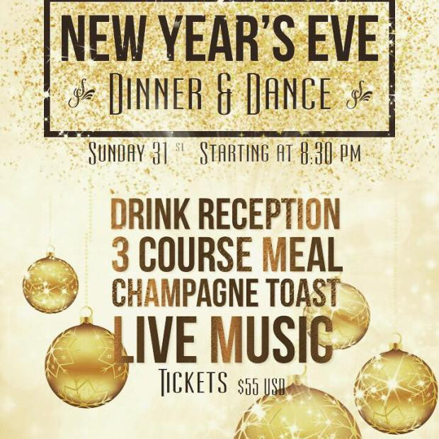 LaCantina-NYE Where to go for Christmas & New Year's in Rocky Point 2017