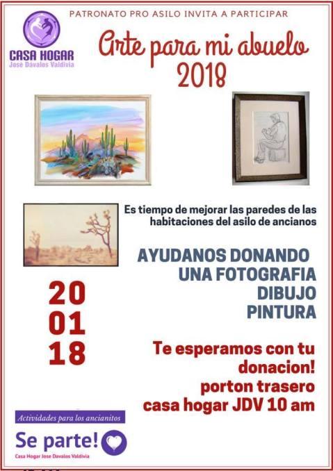arte-casa-hogar-abuelos 2018 Art for Casa Hogar