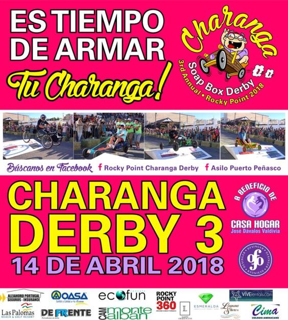 charanga-derby-2018 Rev up your engines (or soapbox)! Rocky Point Weekend Rundown!