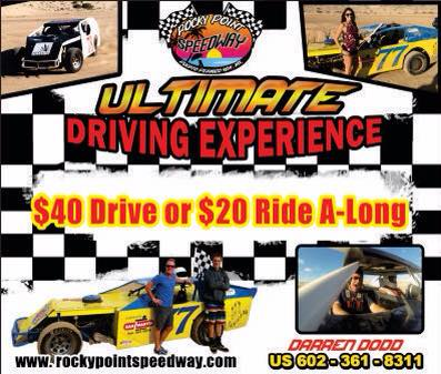 Ultimate Driving Experience – Rocky Point Speedway @ Rocky Point Speedway (near Reef)