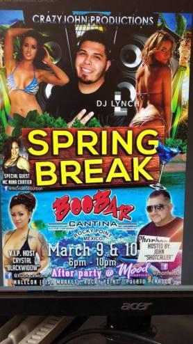 spring break boobar 1
