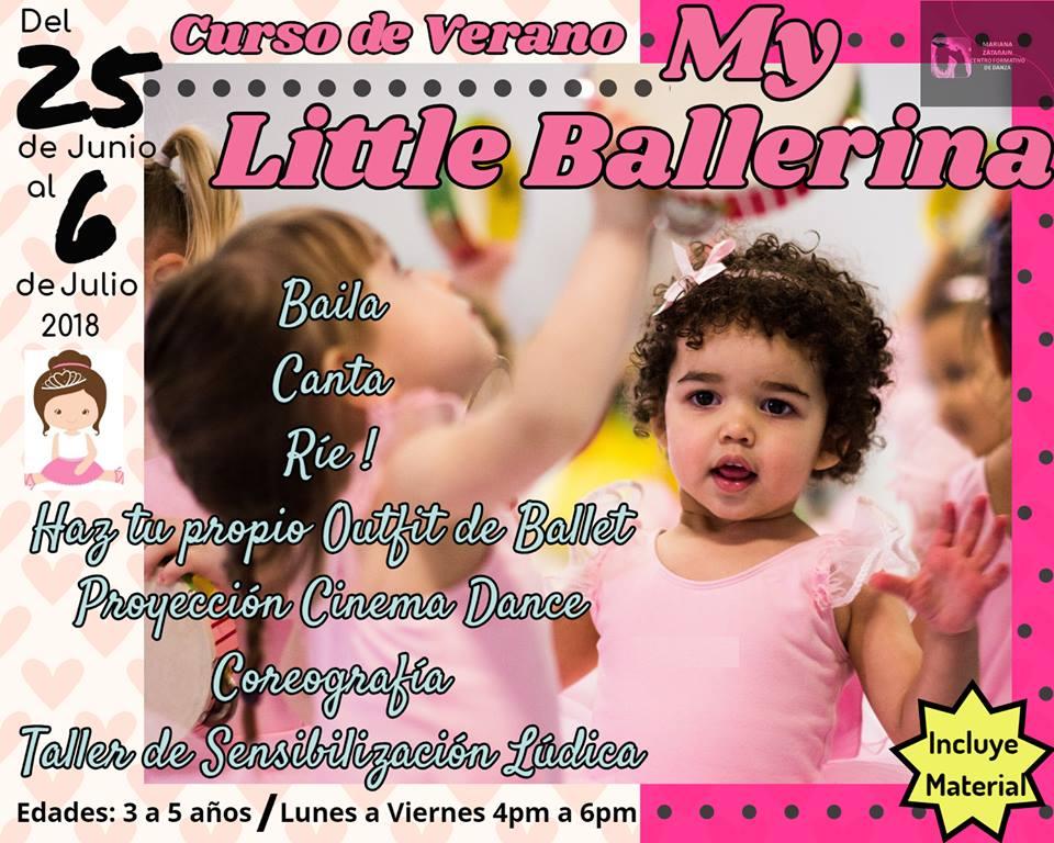 Ballerina ¡Campamentos de verano 2018 en Puerto Peñasco!