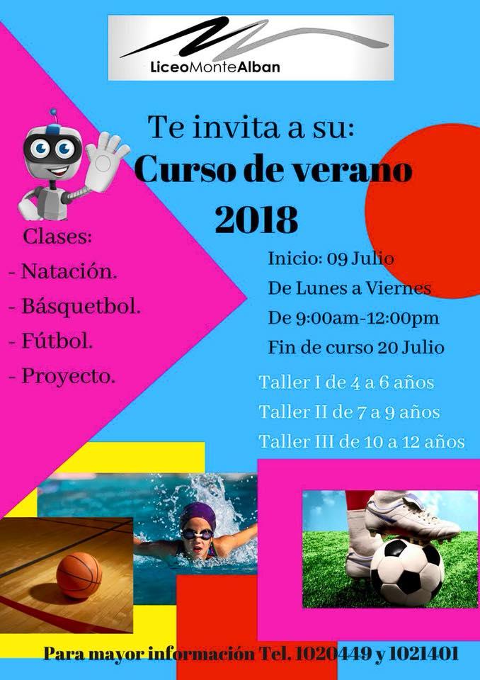 Montessori-Natacion ¡Campamentos de verano 2018 en Puerto Peñasco!