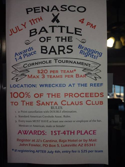 battle-of-the-bars-july11 Election time.  Rocky Point Weekend Rundown!