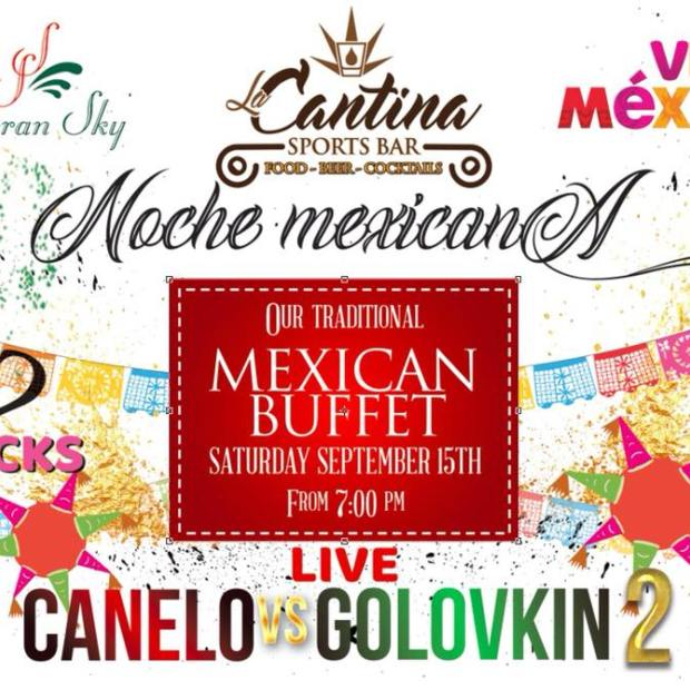 Canelo-la-cantina In the ring!  Mexico boxing favorites