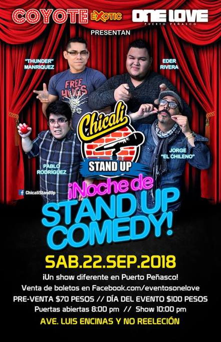 stans-up-comedy ¡VIVA! Rocky Point Weekend Rundown!