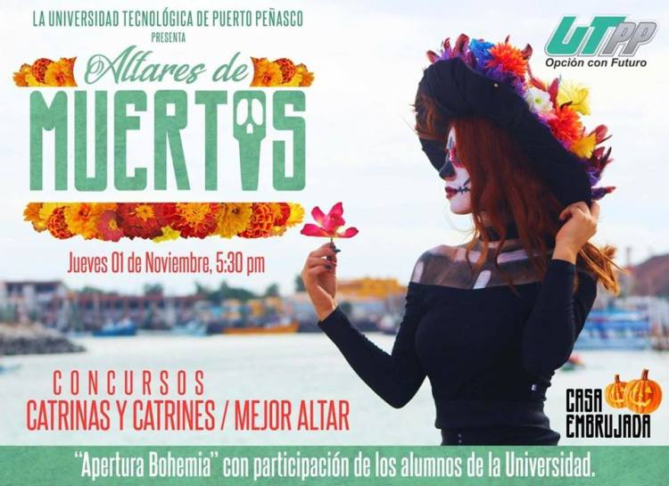 altares-utpp Day of the Dead celebrations in Rocky Point
