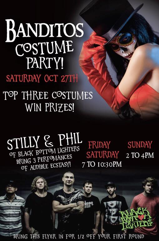 banditos-halloween2018 Halloween Fiestas in Rocky Point!